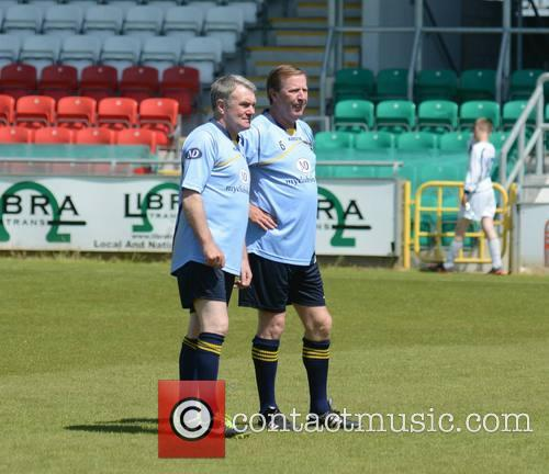 Ray Houghton and Ronnie Whelan 8