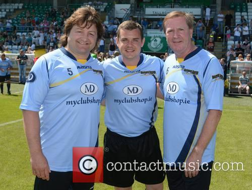 Shane Byrne, Danny O'carroll and Ronnie Whelan