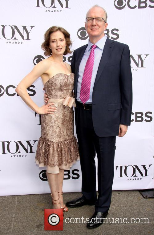 Carrie Coon and Tracy Letts
