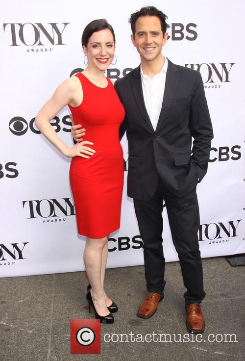 Jessica Hershberg and Santino Fontana
