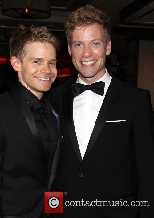 Andrew Keenan-bolger and Barrett Foa