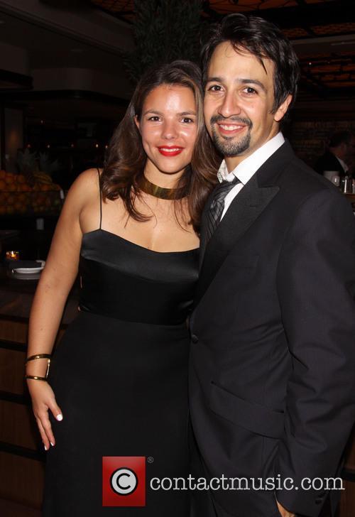 Vanessa Nadal and Lin-manuel Miranda