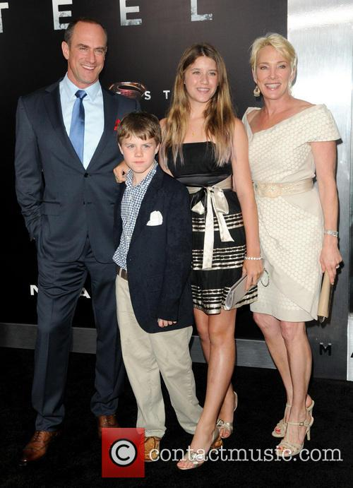 Christopher Meloni and Family