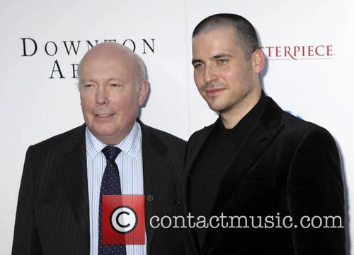 Julian Fellowes and Rob James-collier 5