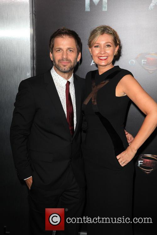 Zack Snyder and Denise Snyder