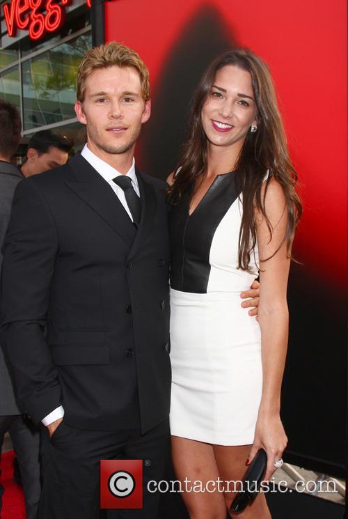Ryan Kwanten and Ashley Sisino