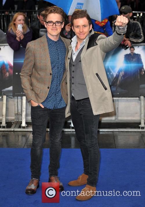 Tom Fletcher and Danny Brown