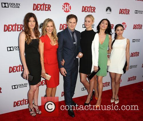 Jennifer Carpenter, Julie Benz, Michael C. Hall, Yvonne Strahovski, Jaime Murray and Aimee Garcia 5