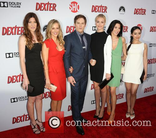 Jennifer Carpenter, Julie Benz, Michael C. Hall, Yvonne Strahovski, Jaime Murray and Aimee Garcia 10