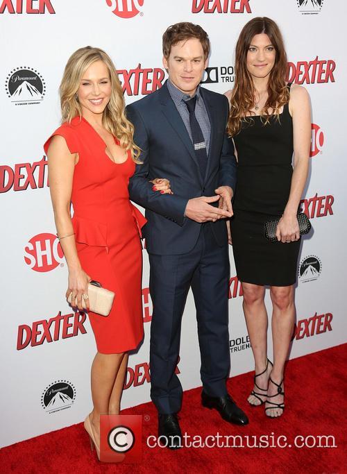 Julie Benz, Michael C. Hall and Jennifer Carpenter 10