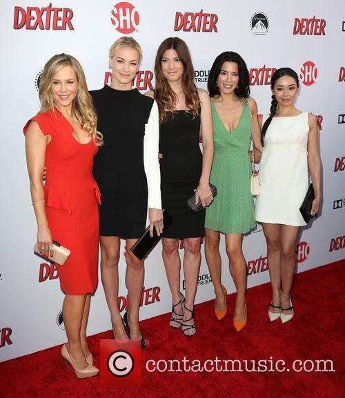 Julie Benz, Yvonne Strahovski, Jennifer Carpenter, Jaime Murray and Aimee Garcia 9