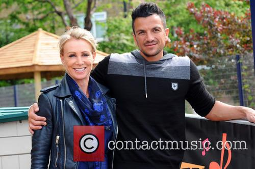 Karen Millen and Peter Andre