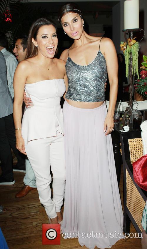 Eva Longoria and Roselyn Sanchez 6
