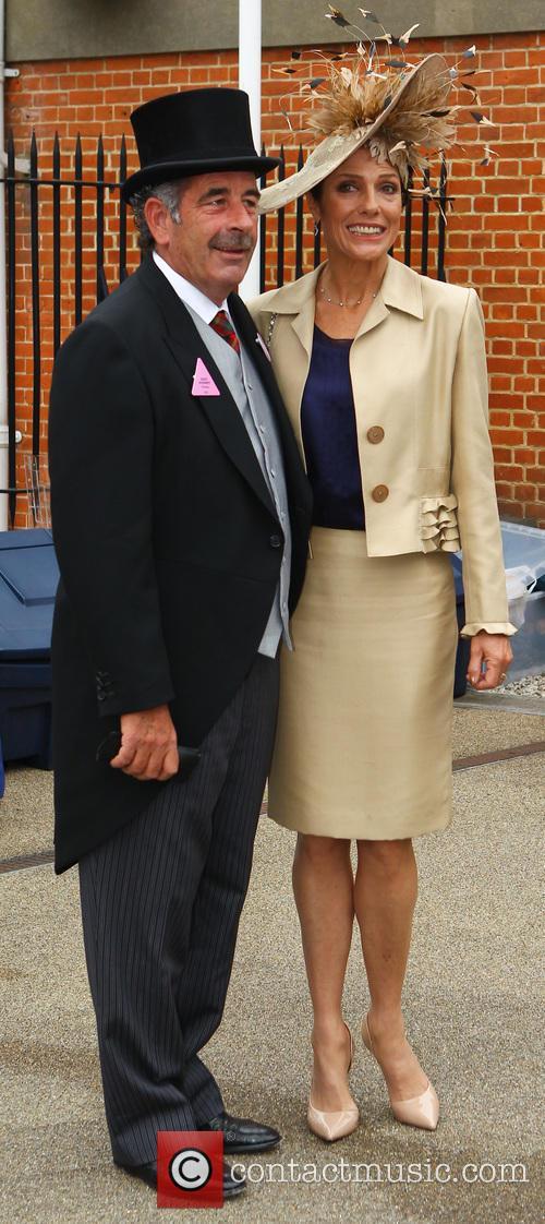 Sam Torrance and Suzanne Danielle
