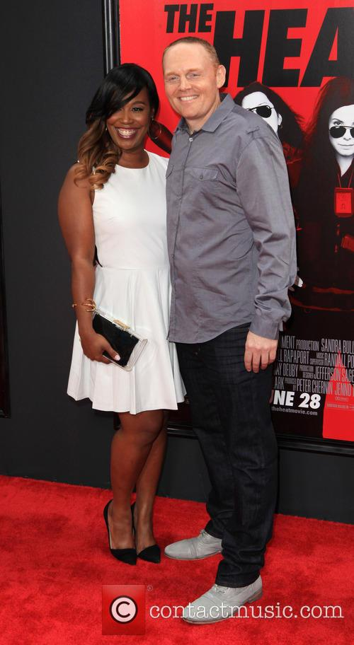Bill Burr and Nia Renee Hill (fiance)