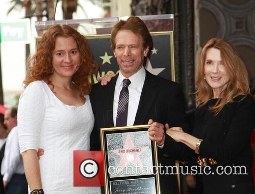 Jerry Bruckheimer, Linda Bruckheimer and Alexandra Bruckheimer