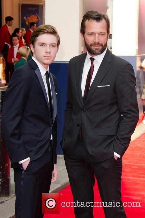 James Purefoy and Son Joe