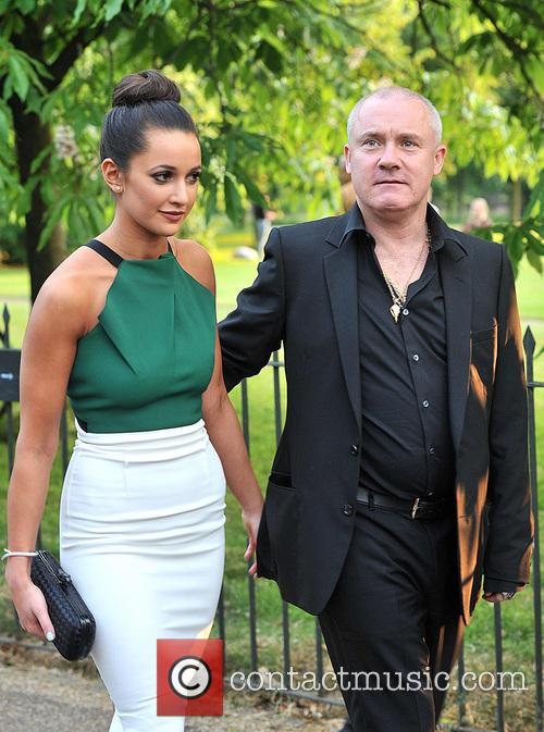 Damien Hirst and Guest