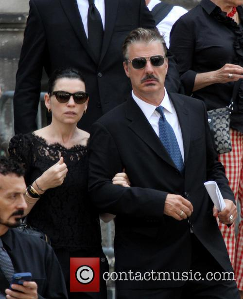 Julianna Margulies and Chris Noth