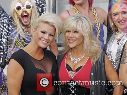 Kerry Katona and Sam Fox