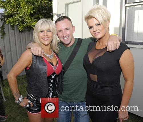 Sam Fox, Chris Jepson and Kerry Katona