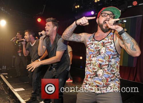 Backstreet Boys, A. J. Mclean, Howie Dorough, Nick Carter, Kevin Richardson and Brian Littrell 1