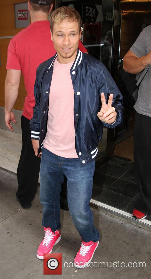 Brian Littrell and Backstreet Boys 2