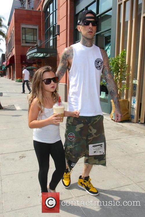 Travis Barker and Alabama Luella Barker