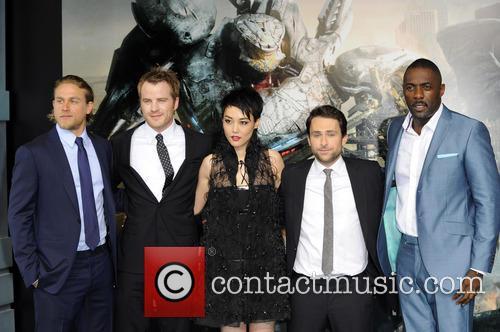 Charlie Hunnam, Rinko Kikuchi, Charlie Day and Idris Elba