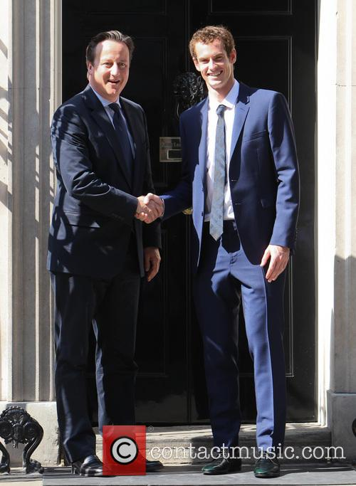 Andy Murray and David Cameron 4