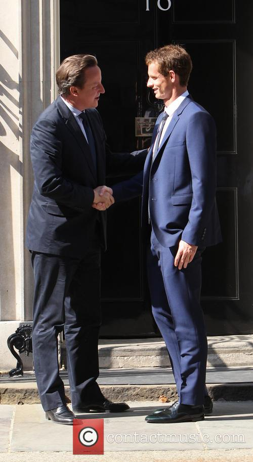 Andy Murray and David Cameron 5