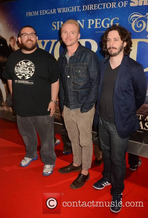 Simon Pegg, Nick Frost and Edgar Wright 3