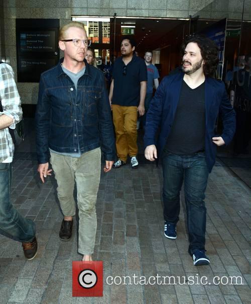 Simon Pegg and Edgar Wright 5