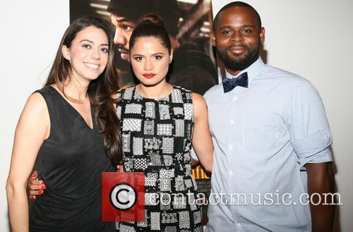Haroula Rose, Melonie Diaz and Gerard Mcmurray 1
