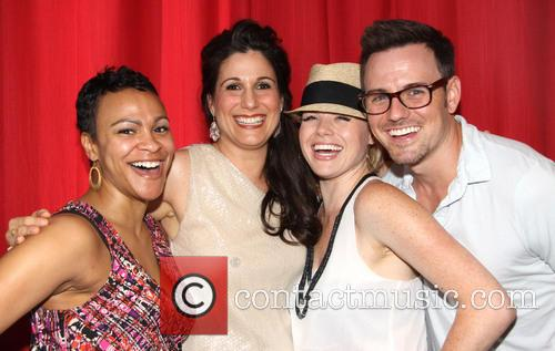 Carly Hughes, Stephanie J. Block, Megan Hilty and Brian Gallagher