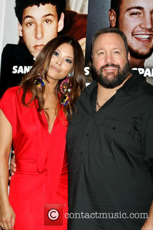 Kevin James and Steffiana De La Cruz