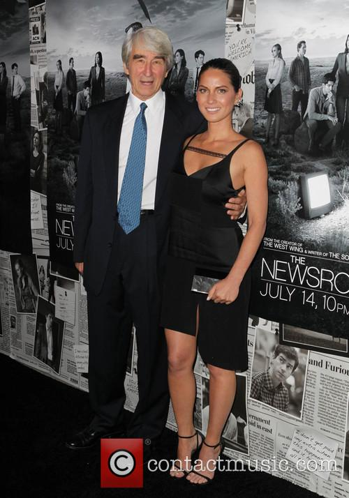 Sam Waterston and Olivia Munn 4