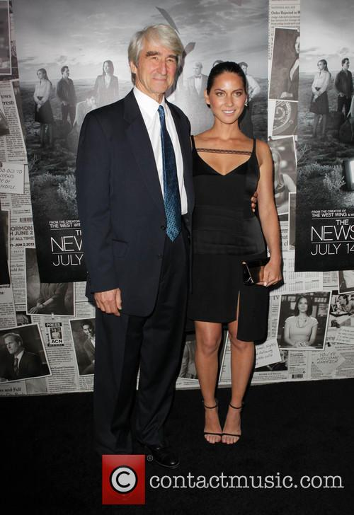 Sam Waterston and Olivia Munn 8