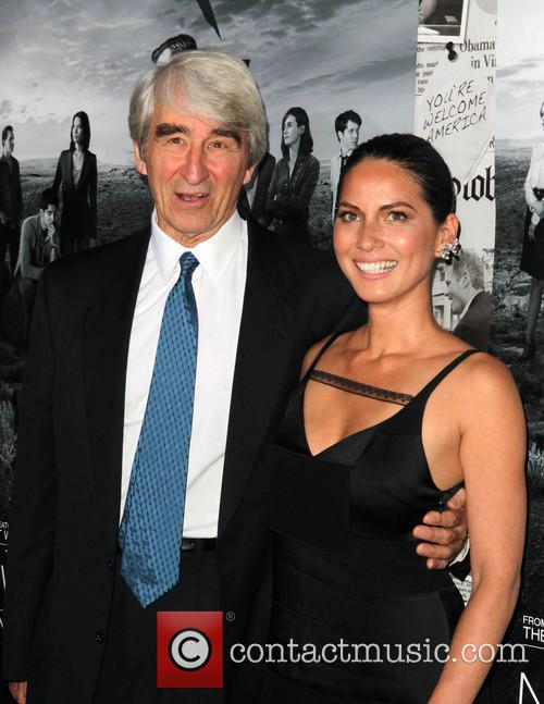 Sam Waterston and Olivia Munn 11