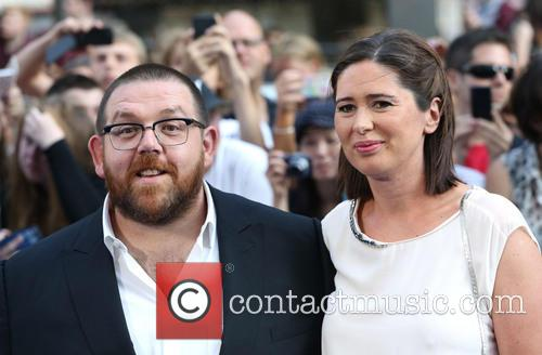 Nick Frost and Christina Frost
