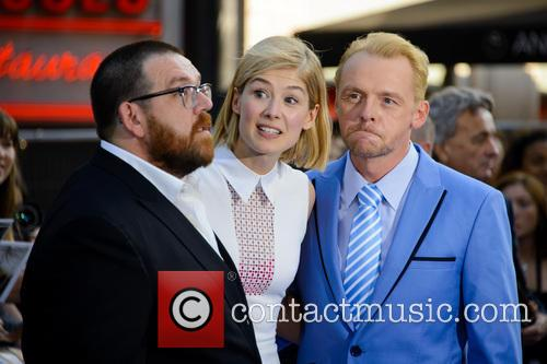 Nick Frost, Rosamund Pike and Simon Pegg 10