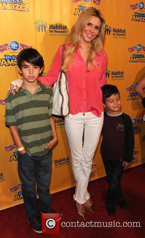 Brandi Glanville, Mason and Jake 1