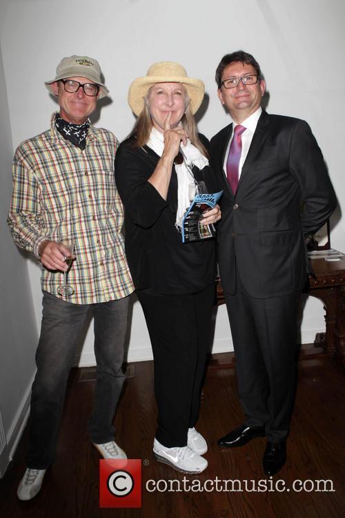 Betty Thomas and French Consul Mr. Axel Cruau