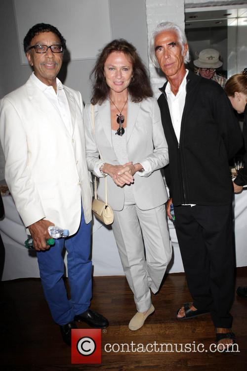 Moroccan Consul Abdu Saoud, Jacqueline Bisset and Nick Butler 2