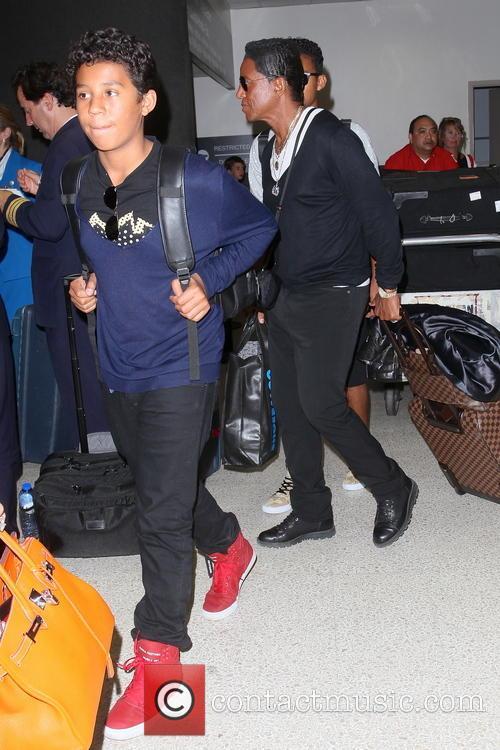 Jermaine Jackson and Jermajesty Jackson 5