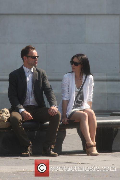Jonny Lee Miller and Lucy Liu 1