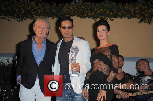 Joel Schumacher, Gabriel Garko and Laura Torrisi 4
