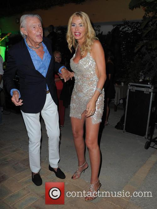 Joel Schumacher and Valeria Marini 3
