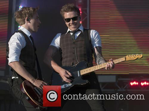 Dougie Poynter, Danny Jones and Mcfly
