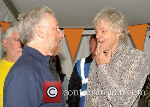 Bob Geldof and Billy Bragg 11